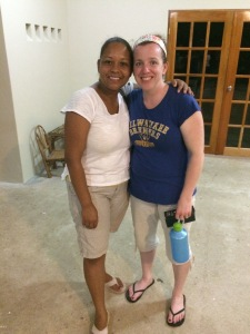 This is Zelda and I, working together again after we met initially at Camp Machaca in 2000.