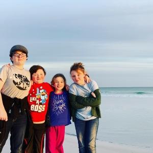 kids seaside